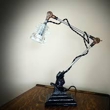 industrial lamp adjustable desk lamp steampunk lamp