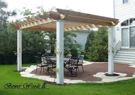 Patio Attached To The House Pergola Pictures Patios Plans Attached House For Front Of 29571