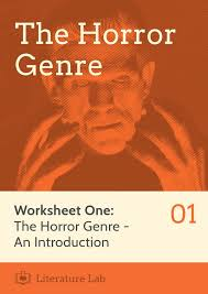 horror worksheet introducing the horror genre u2013 the literature lab