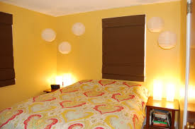 yellow paint matt and kristen at home