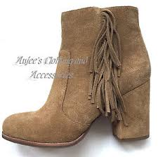 s suede ankle boots size 9 nwt 350 via spiga s niurka dknatural suede leather ankle