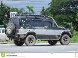 mitsubishi pajero old model old mitsubishi pajero suv car editorial photography image 77565477