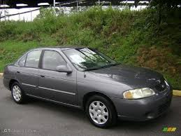 gray nissan sentra 2001 granite gray nissan sentra gxe 35177635 gtcarlot com car