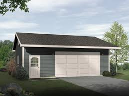 damani modern drive thru garage plan house plans more house