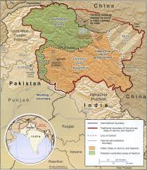 Map Of South Asia by South Asia Hand Kashmir