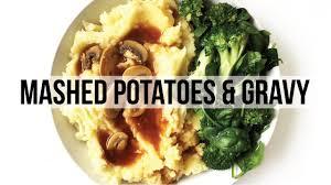vegetarian thanksgiving gravy fat free mashed potato u0026 mushroom gravy recipe vegan youtube
