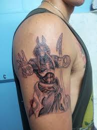 27 stylish zodiac egyptian tattoos on shoulder