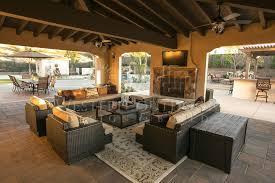 outdoor livingroom cabanas outdoor living spaces gallery western outdoor design and