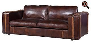 sofa leder braun chesterfield sofa aus leder ecksofa sessel als design