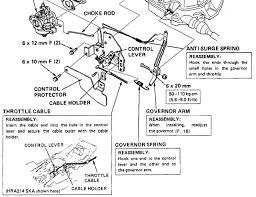 honda hru194 linkage throttle help needed outdoorking repair forum