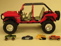 lego jeep lego ideas jeep wrangler jk 4 door offroader