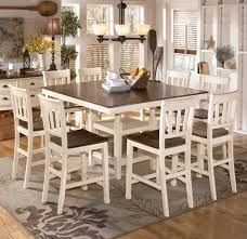 dining room fabulous 9 piece round dining table dinette sets
