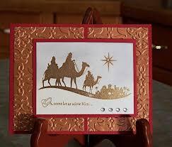 handmade foil embossed christmas card stampin u0027 whimsyart