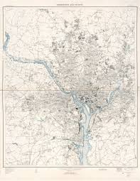 Map Of Washington Dc by Large Scale Detailed Map Of Washington And Vicinity District Of