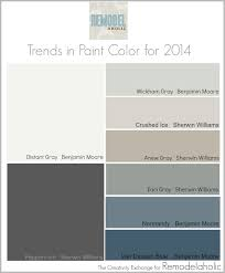 Color Forecast by Remodelaholic Trends In Paint Colors For 2014