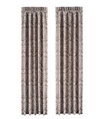 Textured Cotton Tie Top Drape by Window Treatments Curtains U0026 Valances Dillards