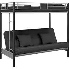dorel silver screen twin over futon metal bunk bed