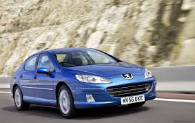 peugeot 407 wagon car picker blue peugeot 407