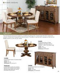 Where To Buy A Dining Room Table Prices U2022 Sunny Designs Cornerstone Dining Furniture U2022 Al U0027s Woodcraft