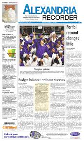 alexandria recorder 061010 by enquirer media issuu