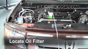 oil u0026 filter change honda element 2003 2011 2008 honda element