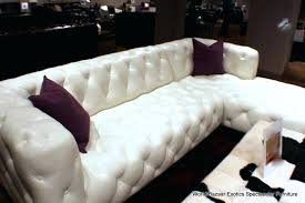 Tufted Sectional Sofa Chaise White Sectional Sofa With Chaise Joze Co