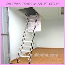 aluminum folding attic ladder with handrail buy folding attic