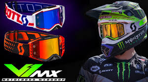 tinted goggles motocross scott 2018 prospect motocross goggles youtube