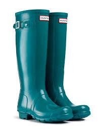 womens wellington boots size 9 wellington boots gloss lagoon green uk 6