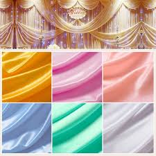Wedding Backdrop Curtains For Sale New Sale Photography Wedding Background Pearl Ice Silk Cloth