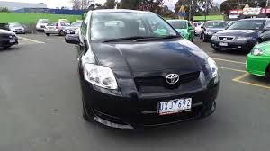 toyota corolla ascent for sale used 2007 toyota corolla ascent for sale car city ringwood