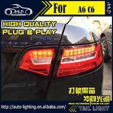 aliexpress com buy car styling led tail lamp for audi a6 tail