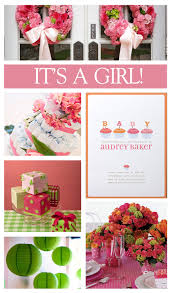 baby shower themes for baby shower for pink theme baby