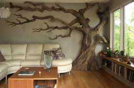 carved wood tree wall wall ideas custom decor wall sculpture made wood