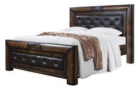 Fabric Sleigh Bed Bedroom Sleigh Bed Headboard And Footboard Solid Hardwood Bed