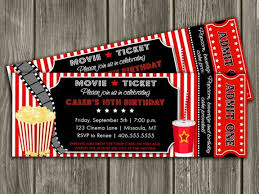 Backyard Movie Party Ideas by Best 25 Movie Party Invitations Ideas On Pinterest Backyard