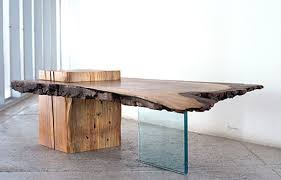 Raw Edge Table by Raw Edge Wood Furniture U2014 Toronto Designers