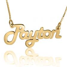 get name necklace get the style you want roller rink harlem style gold name