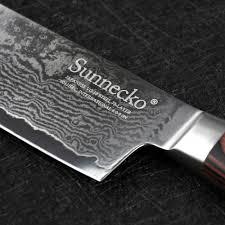 razor sharp kitchen knives sunnecko 8
