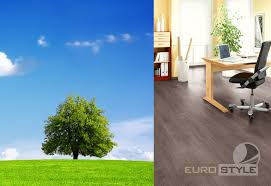 ecologically aware and environmentally friendly laminate
