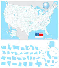 Blank Us Map States by Geography Blog Outline Maps United States Blank Map Of America Us