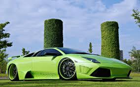 Lamborghini Murcielago Green - cars lamborghini murcielago motors green speed wallpaper