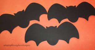Halloween Bat Crafts by Bats Die Cut Black Bat Diecut 1 5
