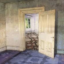 photorealistic paintings of desolate interiors u2013 fubiz media