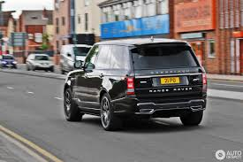 matte range rover 2017 land rover overfinch range rover l405 20 july 2016 autogespot