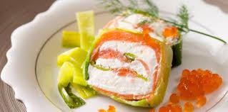 cuisiner le saumon fumé terrine de saumon fumé aux poireaux recette sur cuisine actuelle