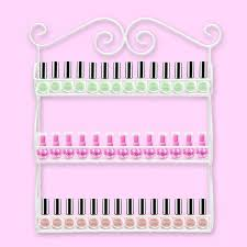 63 best nails polish wall rack images on pinterest nail