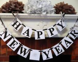 New Years Eve Banner Decorations by New Years Banner Etsy
