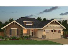 one craftsman home plans plan 39190st one level 3 bedroom home plan house plans