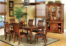 dining room furniture sets shop for a cindy crawford home key west dark leg 5 pc dining room